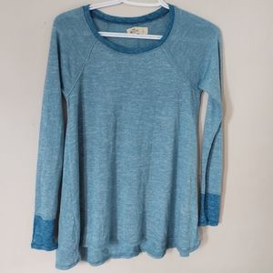 Hollister Soft and Flowy Long Sleeve Top